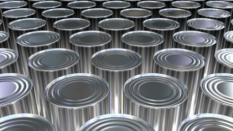 Canned food 3D animation Animation