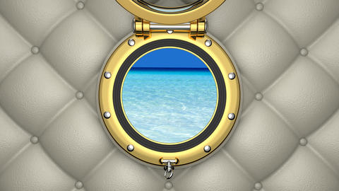 Porthole 3D animation CG動画素材