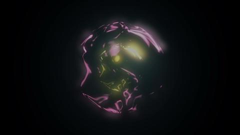 Animation magic sphere Animation