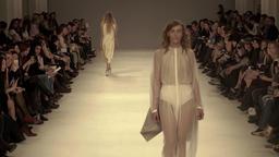 Fashion show: catwalk which model Footage