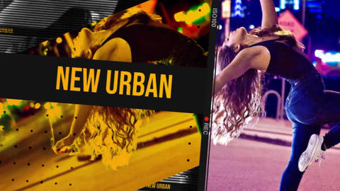 Urban Short Opener After Effects Template