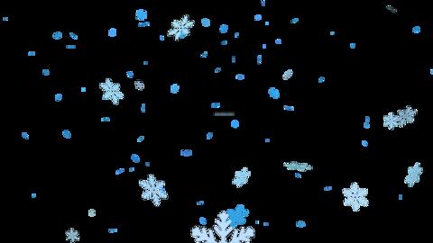 Falling snow Videos animados