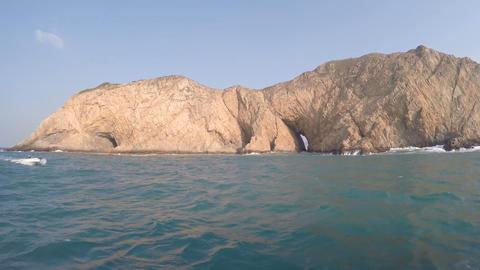 volcanic island Sai Kung Islands Footage