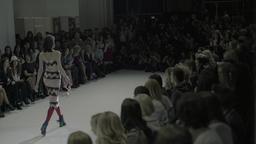 Podium on fashion show Footage