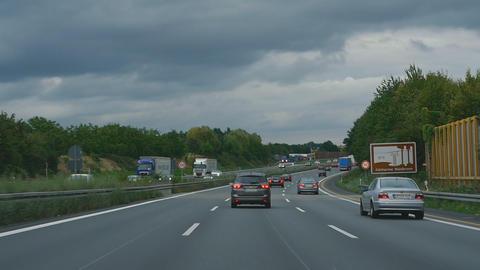 Autobahn near Phorzheim Live Action