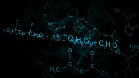 Chemical formula animation Animation