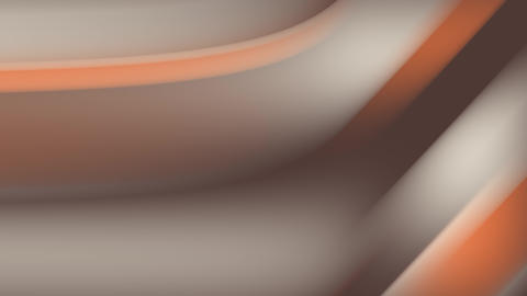 Abstract beautiful wavy background in gray and orange colors. Background for Live Action