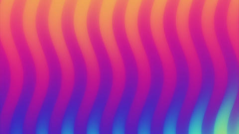 Colorful wave gradient loop animation. Future geometric patterns motion Footage