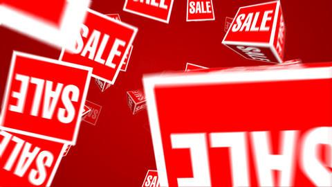 Sale box Stock Video Footage