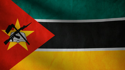 Mozambique flag Animation