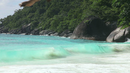 Similan seascape Stock Video Footage