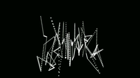dancing graffiti Stock Video Footage