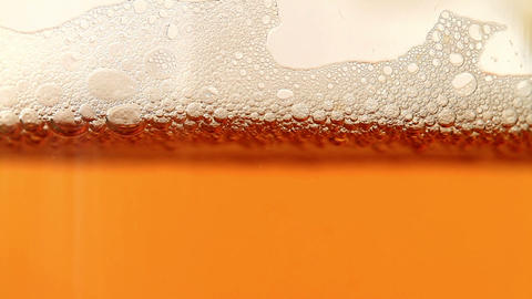 Beer is poured in a glass Stock Video Footage