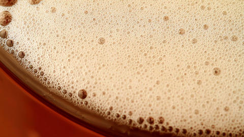 beer bubbles Stock Video Footage
