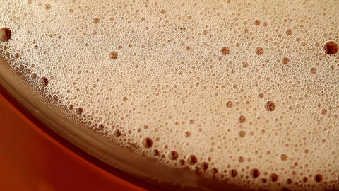 Beer Bubbles stock footage