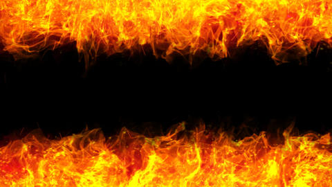 Fire Mir Frame 02 A stock footage