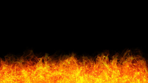 fire loop frame a 01 A Stock Video Footage