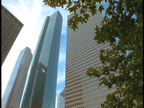 Skyscrapers tower over Houston Footage