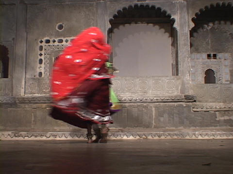 Indian girls dance together Stock Video Footage