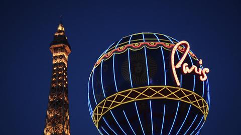 Paris Las Vegas Footage