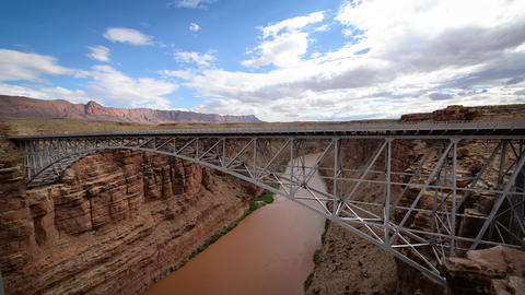 Marble Canyon and Bridge Footage
