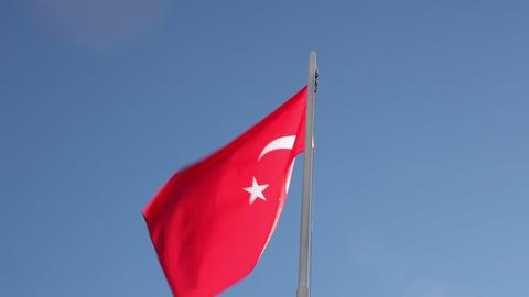 Request Turkey flag Footage