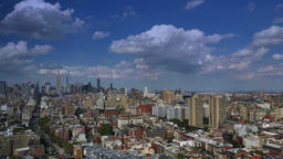 Dramatic Day Timelapse of the Midtown Manhattan Skyline Footage