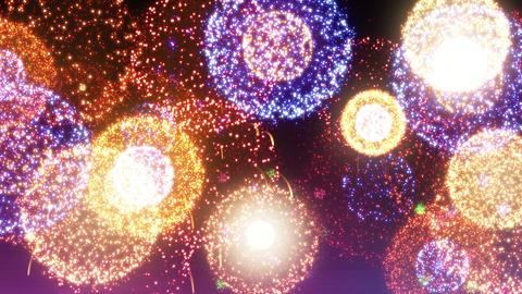 Fireworks Festival 5 En2s 4k Animation