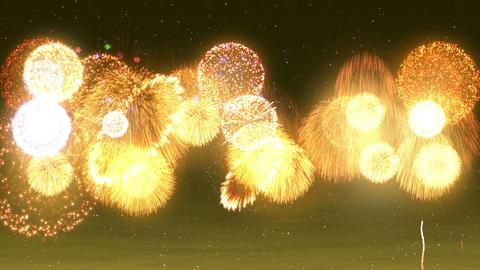 Fireworks Festival 5 Fm1p 4k CG動画