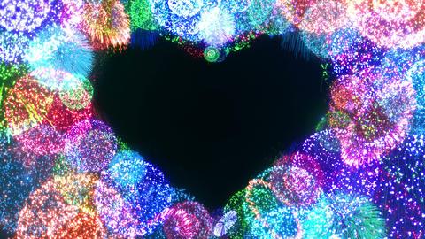 Fireworks Festival 5 Heart 1 4k Animation