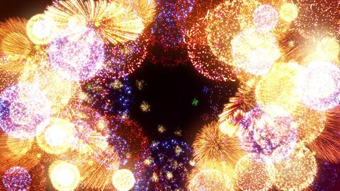 Fireworks Festival 5 Round1 4k Animation
