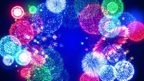 Fireworks Festival 5 Round2op 4k CG動画