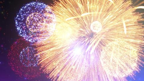 Fireworks Festival 5 A1 4k Animation
