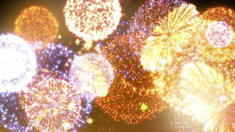 Fireworks Festival 5 Em1 4k Animation