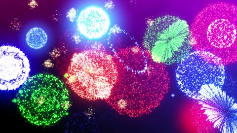 Fireworks Festival 5 En1s 4k CG動画