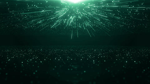 Particles dust bokeh abstract light motion titles cinematic background loop Videos animados