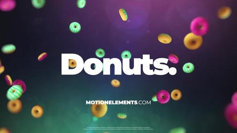 Donuts Logo Premiere Pro Template