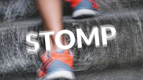 Stomp Logo Plantilla de Apple Motion