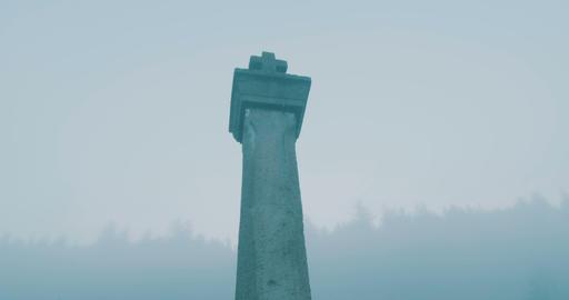 Cross in Fog View ビデオ