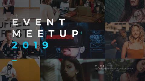 Event Meetup Promo Premiere Proテンプレート