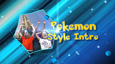 Pokemon Style Intro - Apple Motion and Final Cut Pro X Template Apple Motion Template
