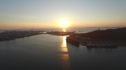 Incheon Port - 02 Footage