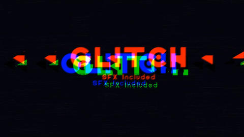 Aggressive Glitch Logo Opener After Effects Template