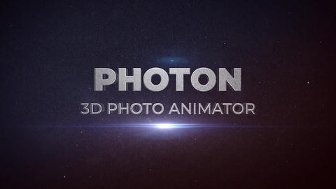 PHOTON - 3D Photo Animator Plantillas de Premiere Pro