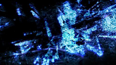 Blue Acid loop Animation