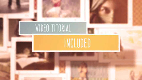Large Photo Gallery After Effects Template