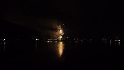 河口湖湖上祭の花火(現場音あり)-003 - Fix Footage