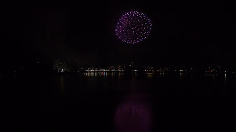 Fireworks - Lake Kawaguchi (Japan) - Field Recording Sound - 004 - Fix Footage