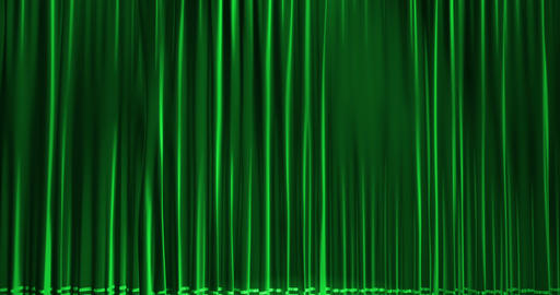 close green curtain movement background, with chroma Footage