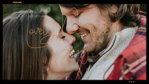 Lovely Moments After Effects Template